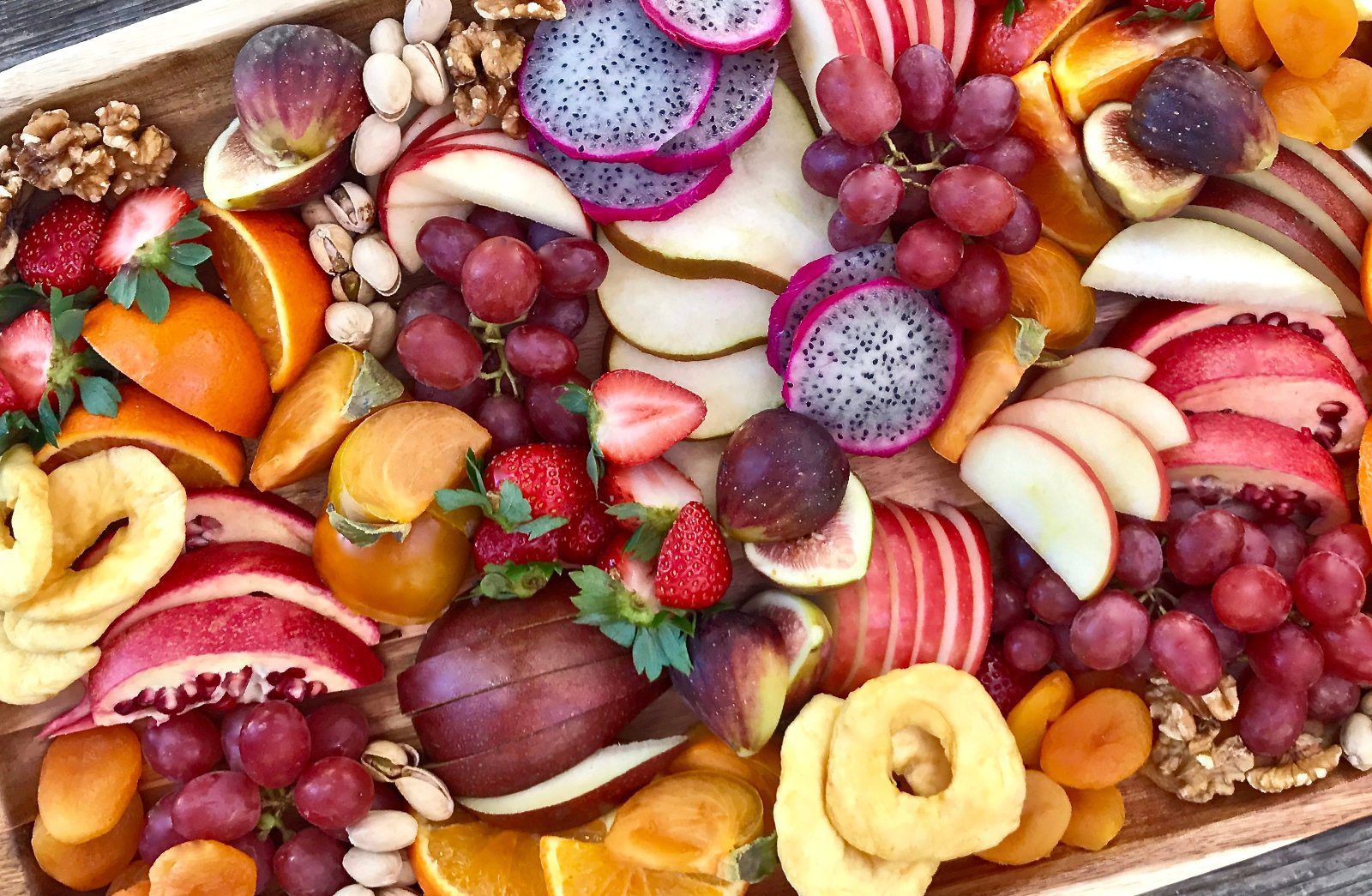 Fresh Fruit Plate with Chat Masala