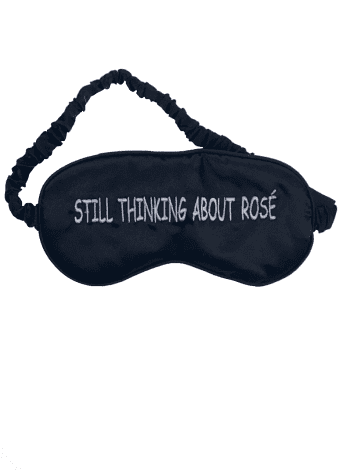 Still Thinking About Rose Eye Mask